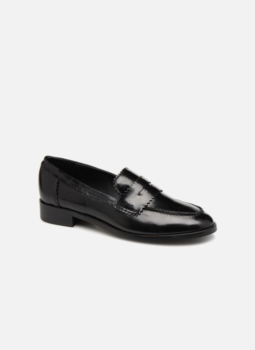 Loafers Georgia Rose Lacroquet Black detailed view/ Pair view