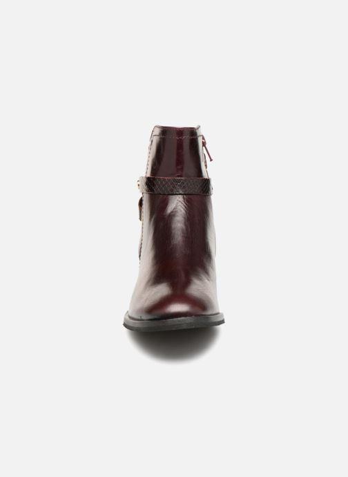 Bottines et boots Georgia Rose Louana Bordeaux vue portées chaussures