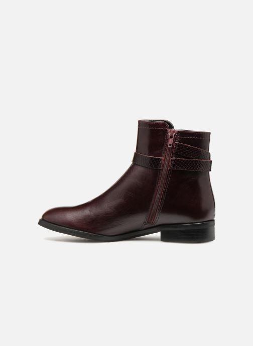 Bottines et boots Georgia Rose Louana Bordeaux vue face
