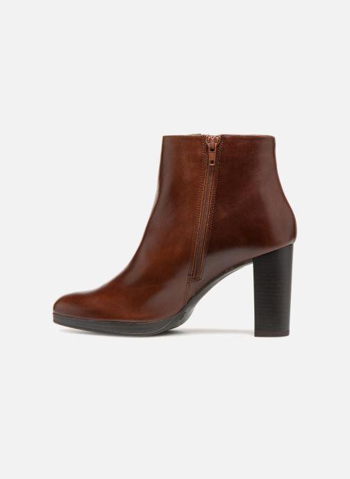 Bottines et boots Georgia Rose Liliou Marron vue face