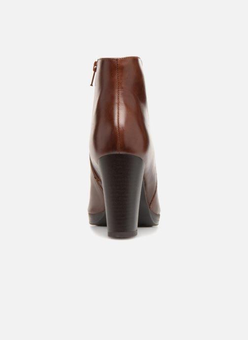 Bottines et boots Georgia Rose Liliou Marron vue droite