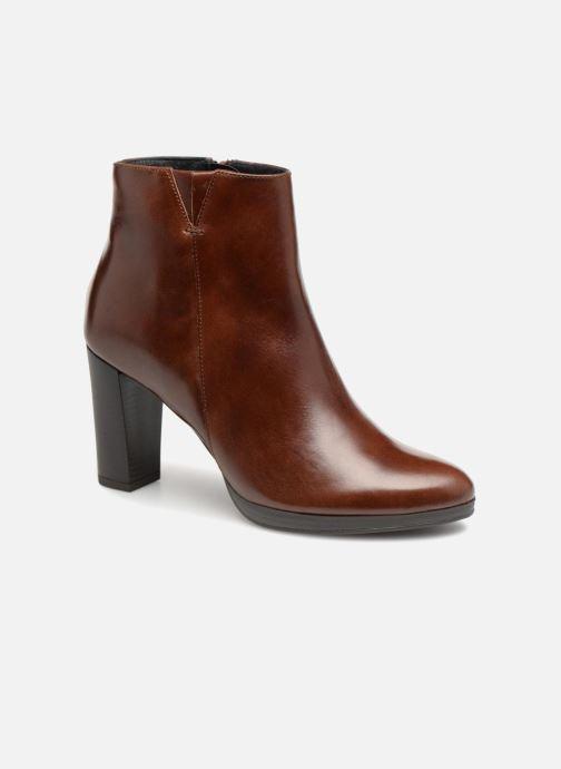 Bottines et boots Georgia Rose Liliou Marron vue détail/paire