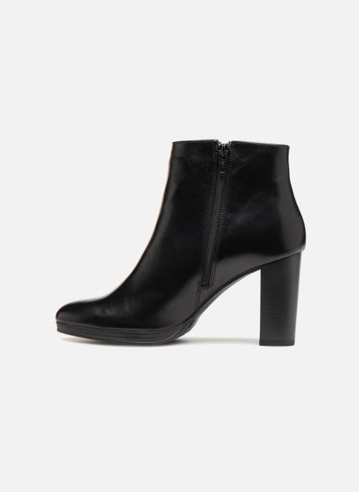 Boots en enkellaarsjes Georgia Rose Liliou Zwart voorkant
