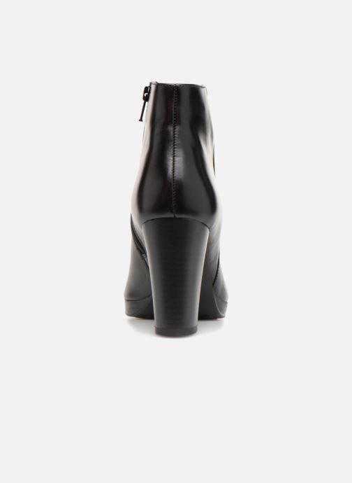 Bottines et boots Georgia Rose Liliou Noir vue droite