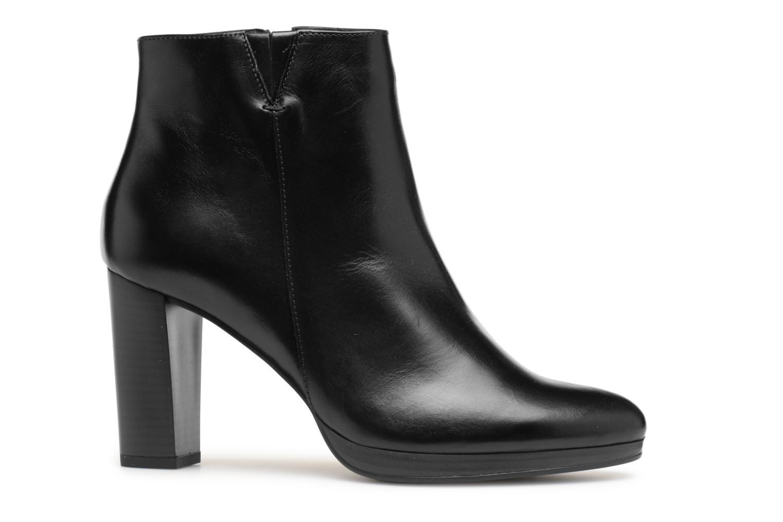 Bottines et boots Georgia Rose Liliou Noir vue derrière