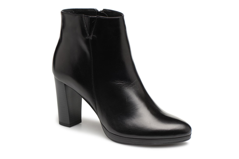 Bottines et boots Georgia Rose Liliou Noir vue détail/paire
