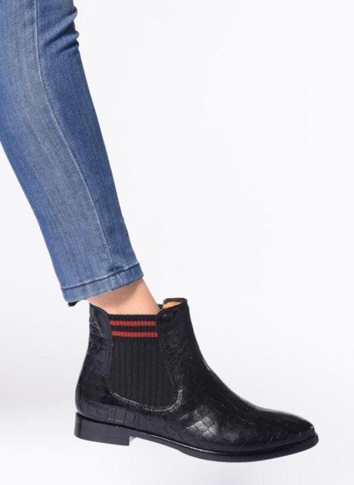 Stiefeletten & Boots Melvin & Hamilton Daisy 6 schwarz ansicht von unten / tasche getragen