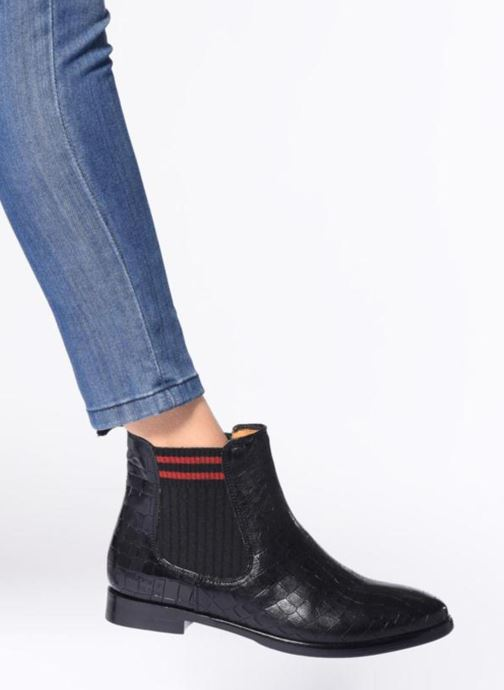 Ankle boots Melvin & Hamilton Daisy 6 Black view from underneath / model view