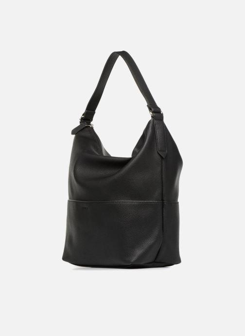 Handtaschen Esprit Faith Hobo schwarz ansicht von rechts