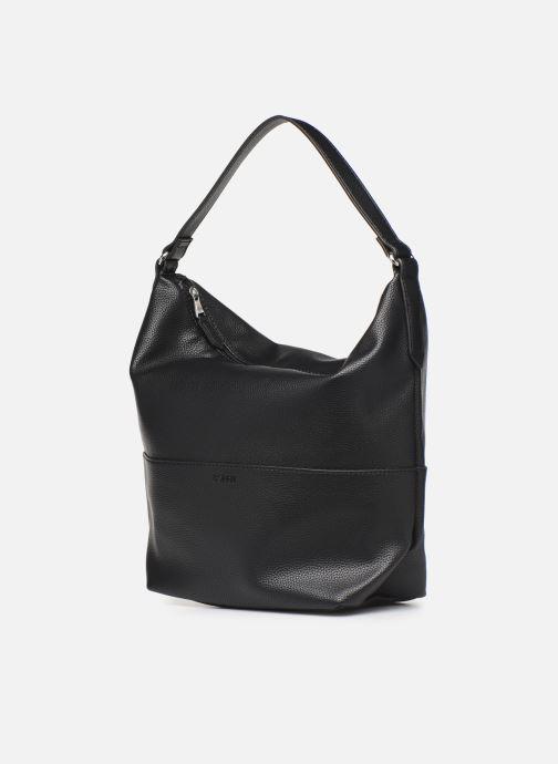 Handtaschen Esprit Faith Hobo schwarz schuhe getragen