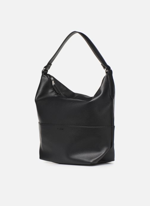Handbags Esprit Faith Hobo Black model view