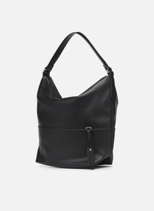 Handbags Esprit Faith Hobo Black view from the right