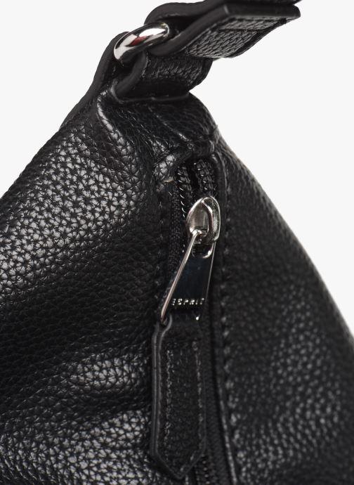 Handtaschen Esprit Faith Hobo schwarz ansicht von links