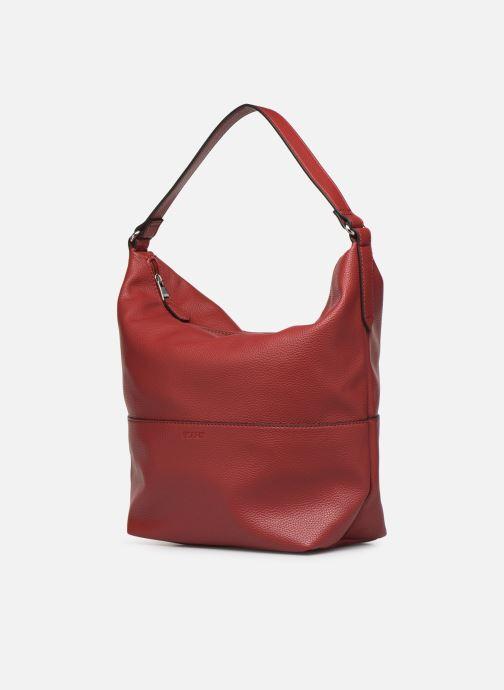 Handbags Esprit Faith Hobo Burgundy model view