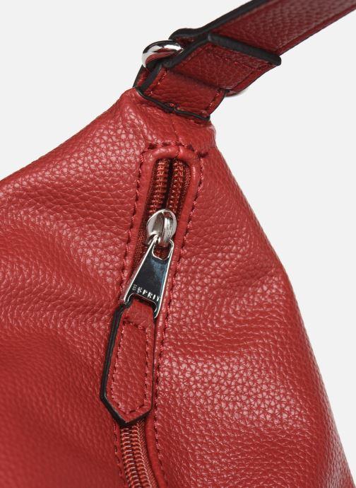 Handtassen Esprit Faith Hobo Bordeaux links