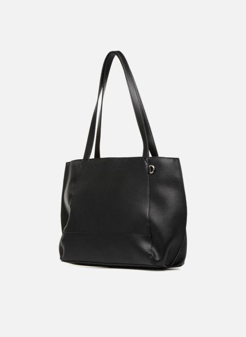 Handtassen Esprit Fran Shopper Zwart rechts