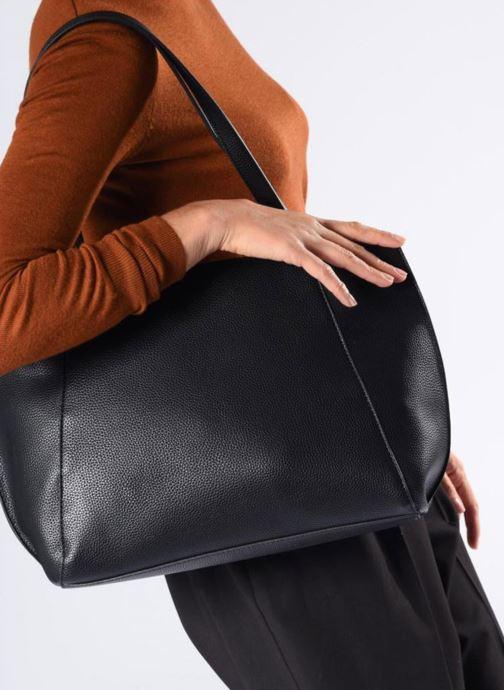 Handtassen Esprit Fran Shopper Zwart boven