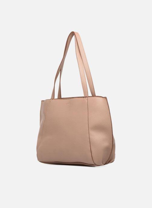 Bolsos de mano Esprit Fran Shopper Beige vista del modelo