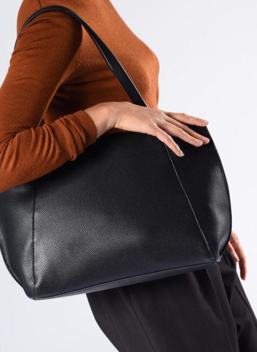 Bolsos de mano Esprit Fran Shopper Beige vista de arriba