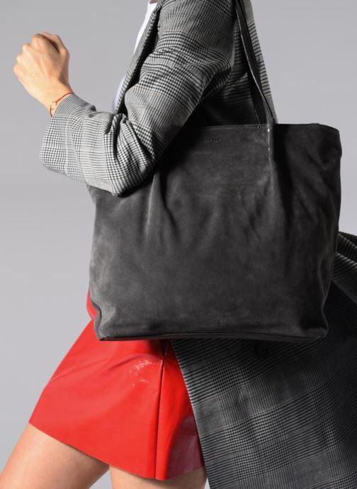 Handtaschen Esprit Ginger Shopper grau ansicht von oben