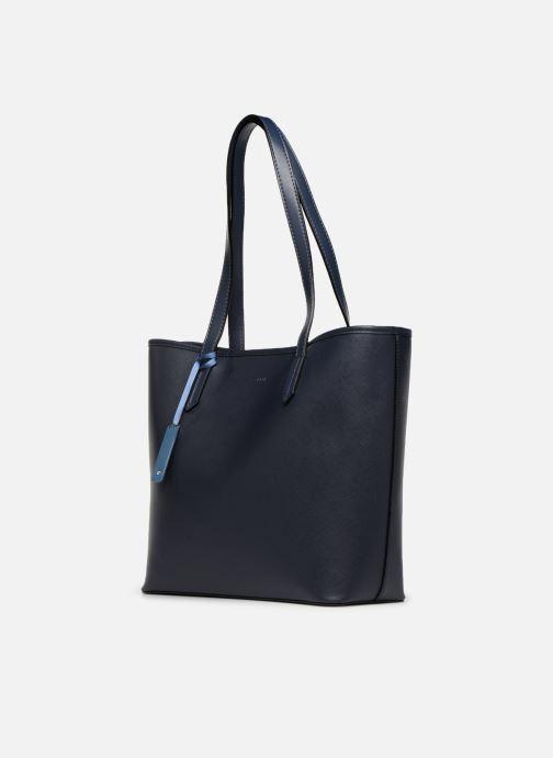 Sacs à main Esprit Farah Shopper Bleu vue portées chaussures