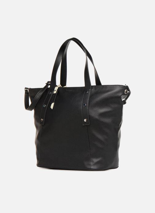 Handtaschen Esprit Fiona City Bag schwarz schuhe getragen