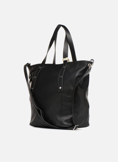 Handtassen Esprit Fiona City Bag Zwart rechts