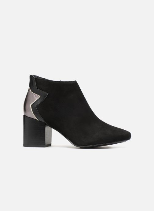 Bottines et boots Tommy Hilfiger ELEVATED SUEDE HEELED BOOTIE Noir vue derrière