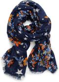 Sjaal Accessoires Print Flower Scarf