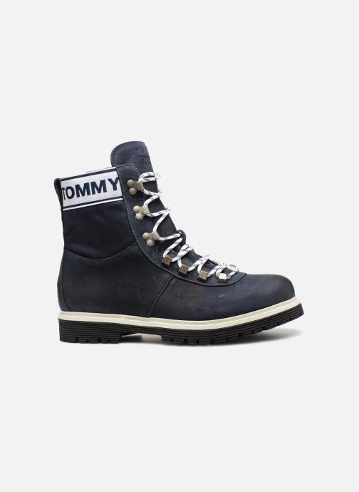 Bottines et boots Tommy Hilfiger TOMMY JEANS CANVAS SUEDE BOOT Bleu vue derrière