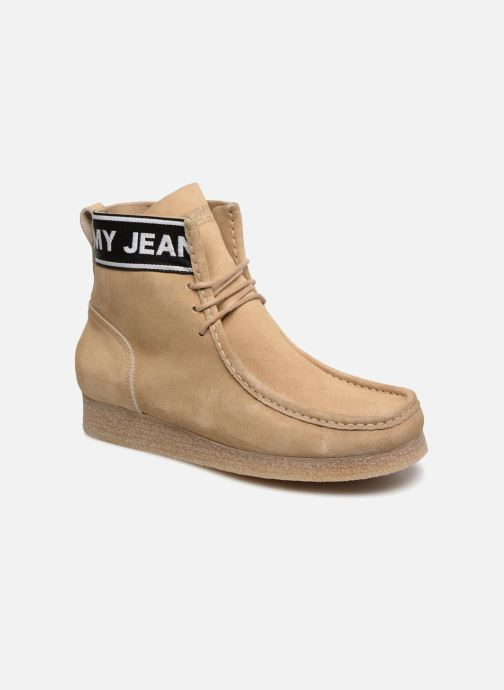Tommy Hilfiger CREPE OUTSOLE SUEDE WALLABY (Beige