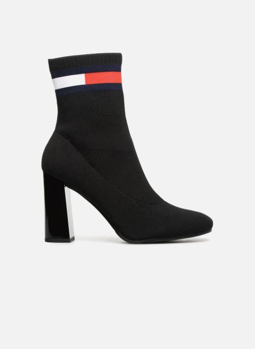 Bottines et boots Tommy Hilfiger SOCK HEELED BOOT Noir vue derrière