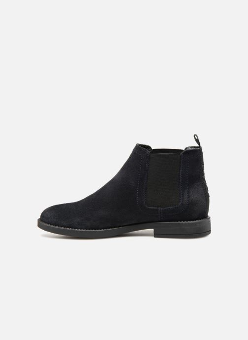 Boots en enkellaarsjes Tommy Hilfiger ESSENTIAL CHELSEA BOOT Blauw voorkant