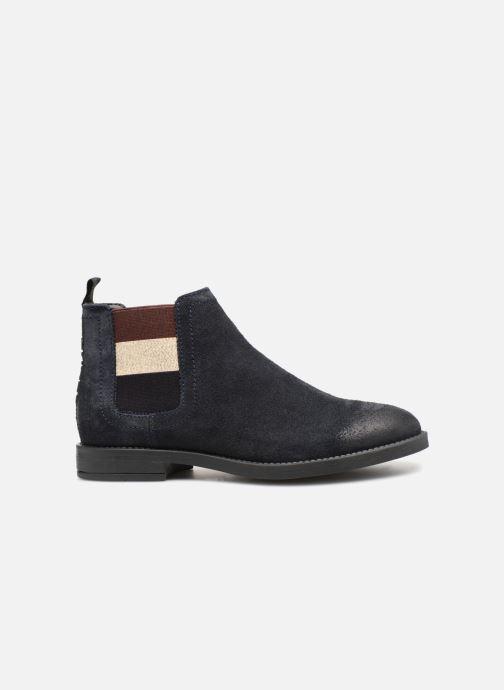 Boots en enkellaarsjes Tommy Hilfiger ESSENTIAL CHELSEA BOOT Blauw achterkant