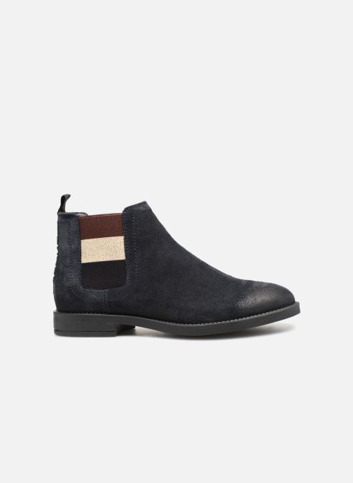 Bottines et boots Tommy Hilfiger ESSENTIAL CHELSEA BOOT Bleu vue derrière