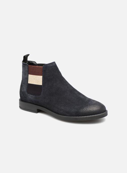 Bottines et boots Tommy Hilfiger ESSENTIAL CHELSEA BOOT Bleu vue détail/paire
