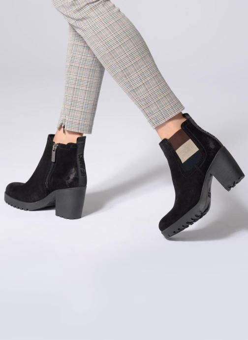 Tommy Hilfiger ESSENTIAL MID HEEL BOOT (Noir) Bottines et