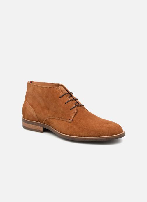 Bottines et boots Tommy Hilfiger ESSENTIAL SUEDE BOOT Marron vue détail/paire