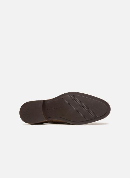 Chaussures à lacets Tommy Hilfiger ESSENTIAL SUEDE LACE UP DERBY Beige vue haut