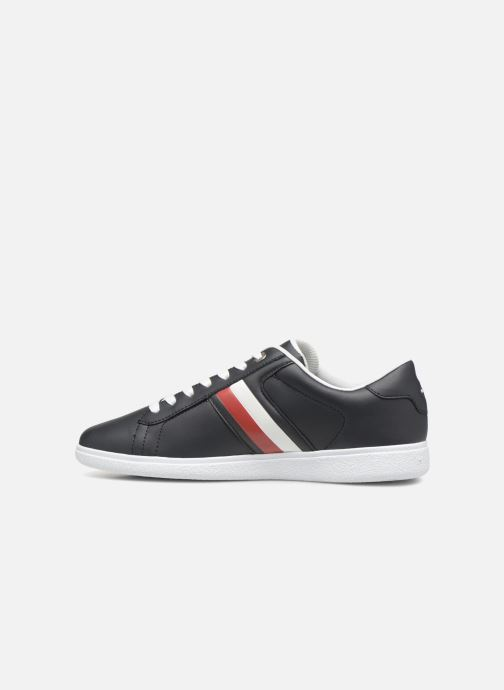 Sneaker Tommy Hilfiger CORE CORPORATE LEATHER CUPSOLE blau ansicht von vorne