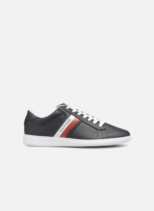 Baskets Tommy Hilfiger CORE CORPORATE LEATHER CUPSOLE Bleu vue derrière