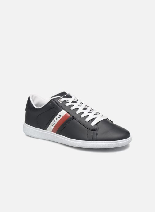 Sneaker Tommy Hilfiger CORE CORPORATE LEATHER CUPSOLE blau detaillierte ansicht/modell