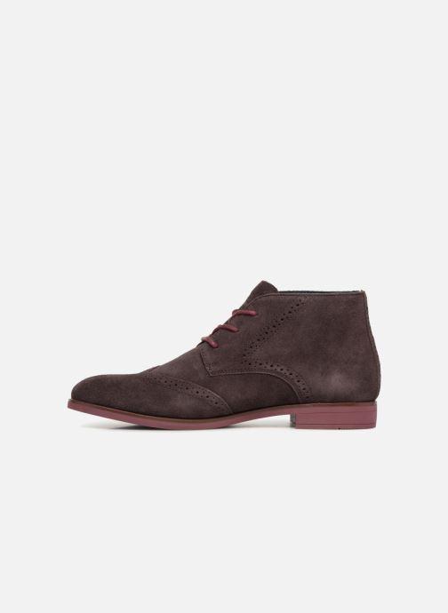 Bottines et boots Tommy Hilfiger DRESSY CASUAL SUEDE BOOT Bordeaux vue face