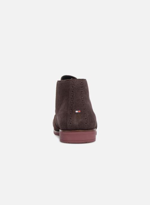 Bottines et boots Tommy Hilfiger DRESSY CASUAL SUEDE BOOT Bordeaux vue droite