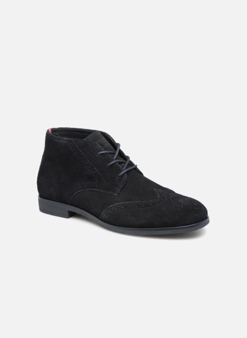 Bottines et boots Tommy Hilfiger DRESSY CASUAL SUEDE BOOT Bleu vue détail/paire