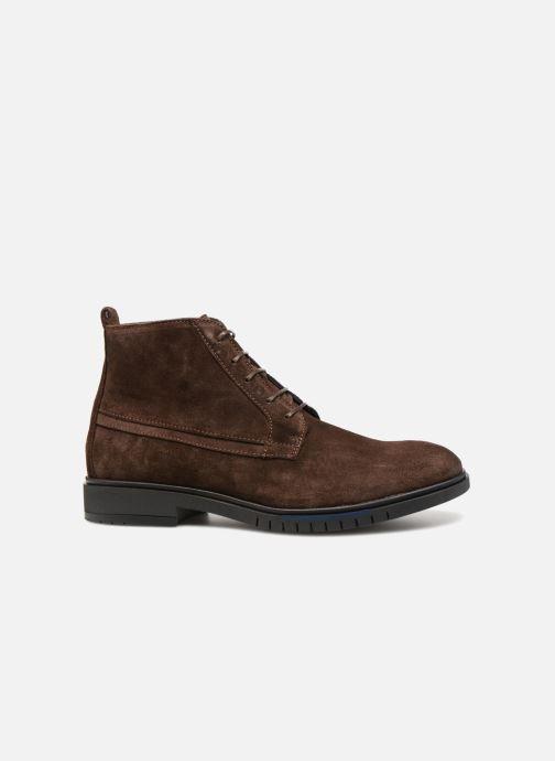 Bottines et boots Tommy Hilfiger FLEXIBLE DRESSY SUEDE BOOT Marron vue derrière