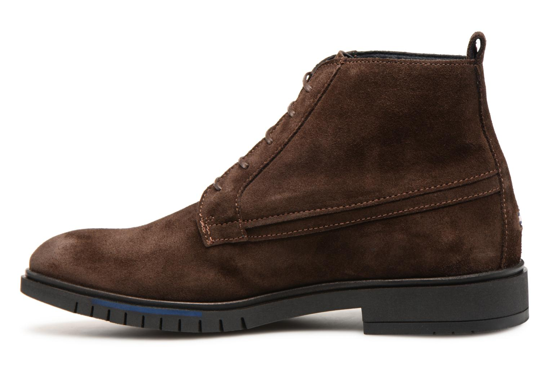Stiefeletten & Boots Tommy Hilfiger FLEXIBLE DRESSY SUEDE BOOT braun ansicht von vorne