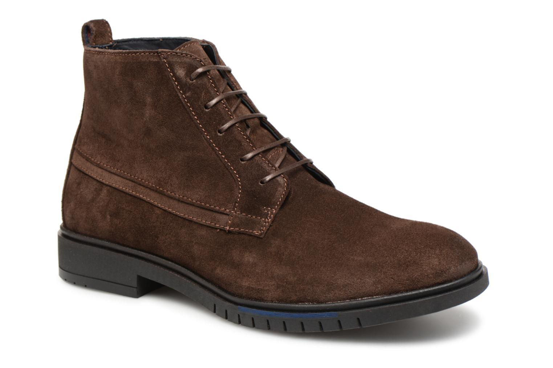 Stiefeletten & Boots Tommy Hilfiger FLEXIBLE DRESSY SUEDE BOOT braun detaillierte ansicht/modell