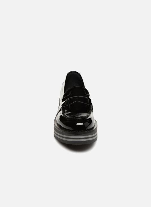 Mocassins Tommy Hilfiger MODERN FLATFORM LOAFER Noir vue portées chaussures