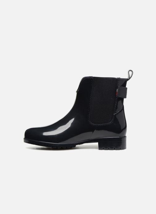 Bottines et boots Tommy Hilfiger CORPORATE BELT RAIN BOOT Bleu vue face